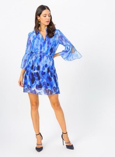 NetWork Elbise İndigo